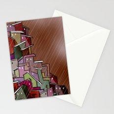 Urban Tetris#2 Stationery Cards