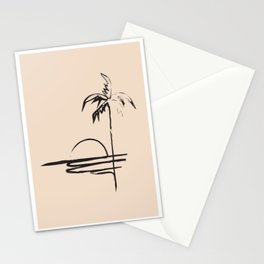 Abstract Landscpe Stationery Cards