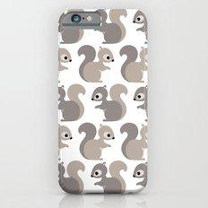 Grey squirrel iPhone 6s Slim Case