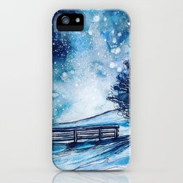 Watch the stars iPhone Case