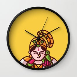 Srivilliputhur Andal Wall Clock