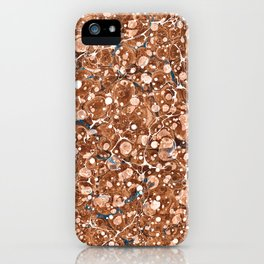 Vintage Marbled Texture - Organic Overdose iPhone Case