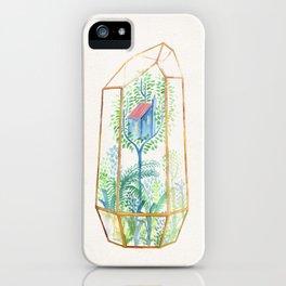 Terrarium Garden III iPhone Case