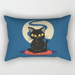 Thinking Rectangular Pillow