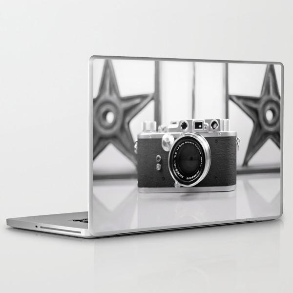 Nicca Rangefinder Camera - 1950s Laptop & iPad Skin by ccstudio2380