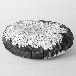 Queen Ann's Lace Floor Pillow