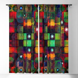 Urban Perceptions, Abstract Shapes Blackout Curtain