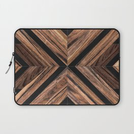 Urban Tribal Pattern No.3 - Wood Laptop Sleeve