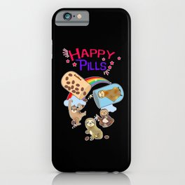 Sloth Lazy Humor Chill Zoo Animal Gift iPhone Case