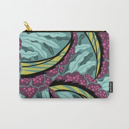 BALINESIA: TAMANGO MORNING, Art Deco Tropical Carry-All Pouch