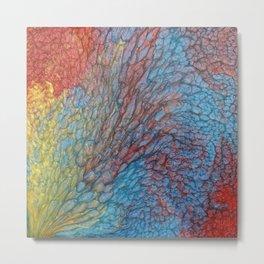 Colored Cube #1 B Metal Print