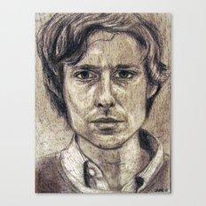 John Maus (portrait) Canvas Print