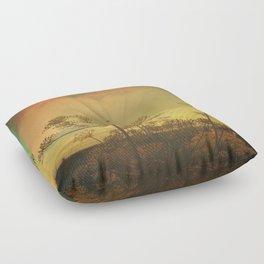 Summer Enchantment Love Floor Pillow