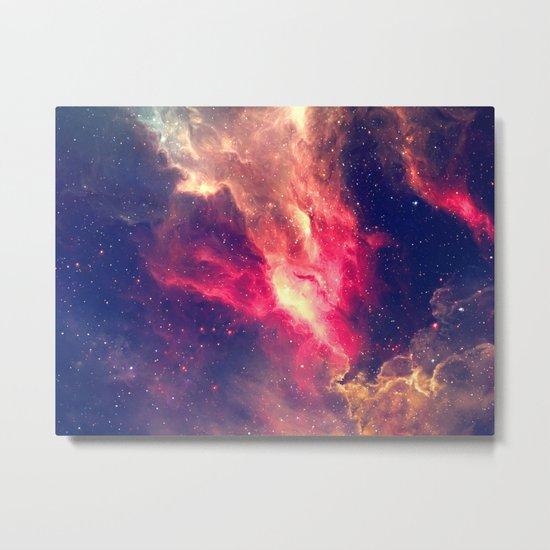 The Sky is on Fire Metal Print