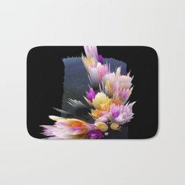 flowers 3d abstract digital painting Bath Mat