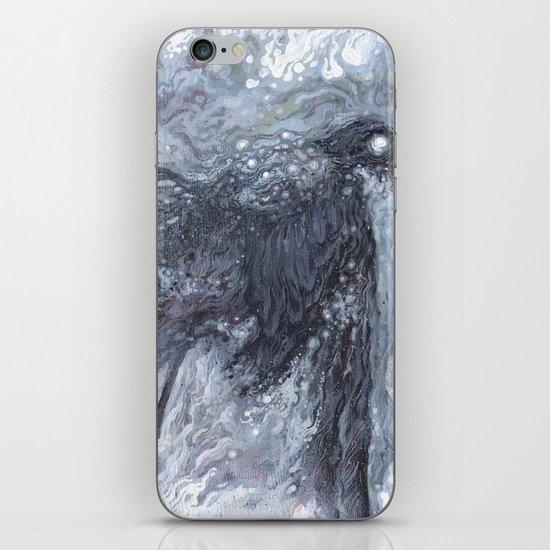 The Bearded Crow iPhone & iPod Skin