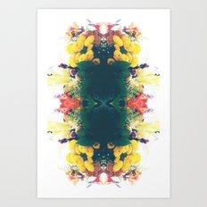 Summer Bouquet Psychedelia 2012 Art Print