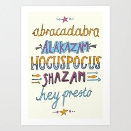 Hocus Pocus Poster Art Print