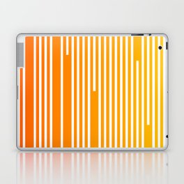 Abstract Geometric Summer With Lines Laptop & iPad Skin