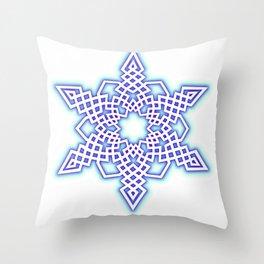 Frozen Sky Throw Pillow