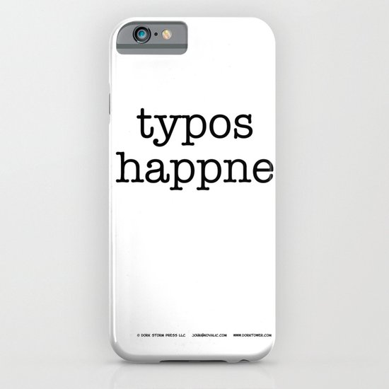 Typos Happne iPhone & iPod Case