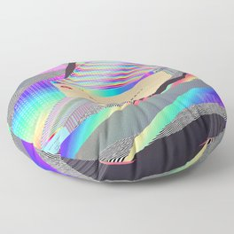 Error Tab Vaporwave Floor Pillow