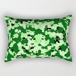 Bad Ass Green Rectangular Pillow