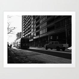 Town & Country - #views series Art Print