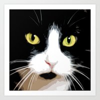 merlin Art Prints featuring MERLIN by SAMHAIN
