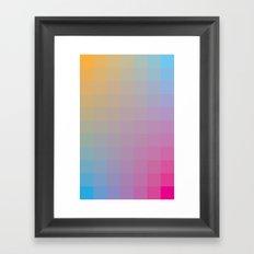 Complements Framed Art Print