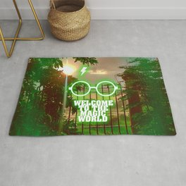 Welcome to the magic world... Inspirational Movie Art Rug