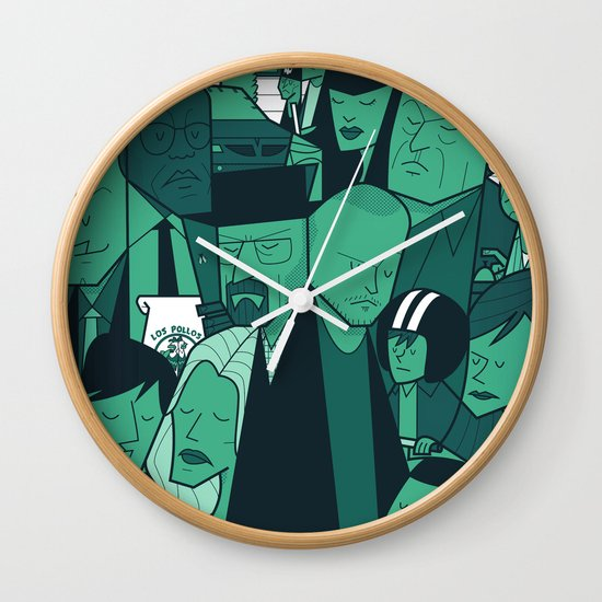 Breaking Bad (green version) Wall Clock