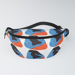 pattern with abstract figures Fanny Pack