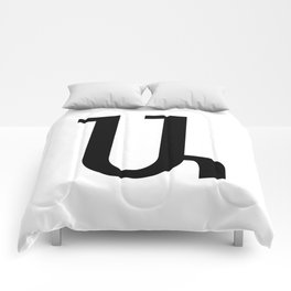 Armenian Letter A Comforters