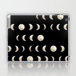 Midnight Moon Phases Laptop & iPad Skin