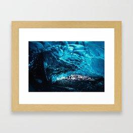 Ice Water Framed Art Print