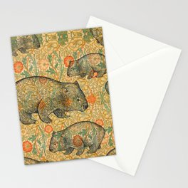 Ode to a Wombat Stationery Cards