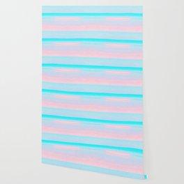 Blissful Beach - Sandy Pink Wallpaper