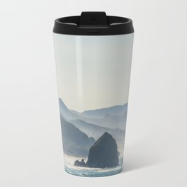 Haystack Rock from Crescent Point Travel Mug