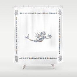 Mermaid by Love Rocks Me Shower Curtain