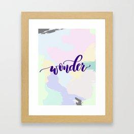 Wonder Print Framed Art Print