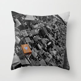Locks Of Love. Throw Pillow