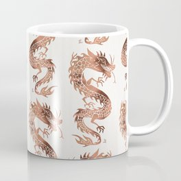 Chinese Dragon – Rose Gold Palette Coffee Mug