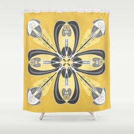 Magic Mandala 2 Shower Curtain