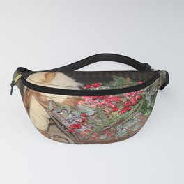 Holiday Tabletop Sleigh Fanny Pack