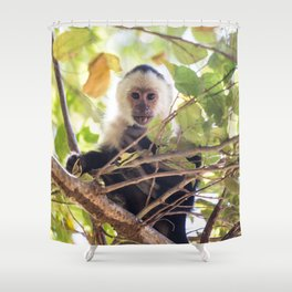Lick the system Shower Curtain