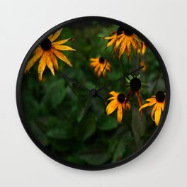 Fall Flowers in New Hampshire No. 3 Wall Clock