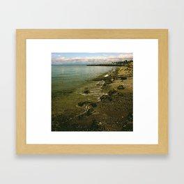 Edmonds Waterfront Framed Art Print