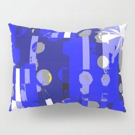 Through the Blue Pillow Sham