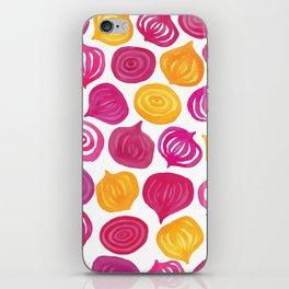 Spring Beet pattern iPhone Skin